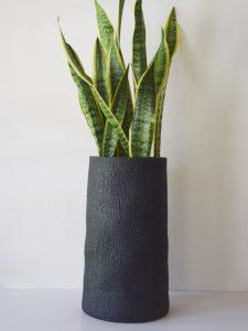 Black tall hessiam wrap